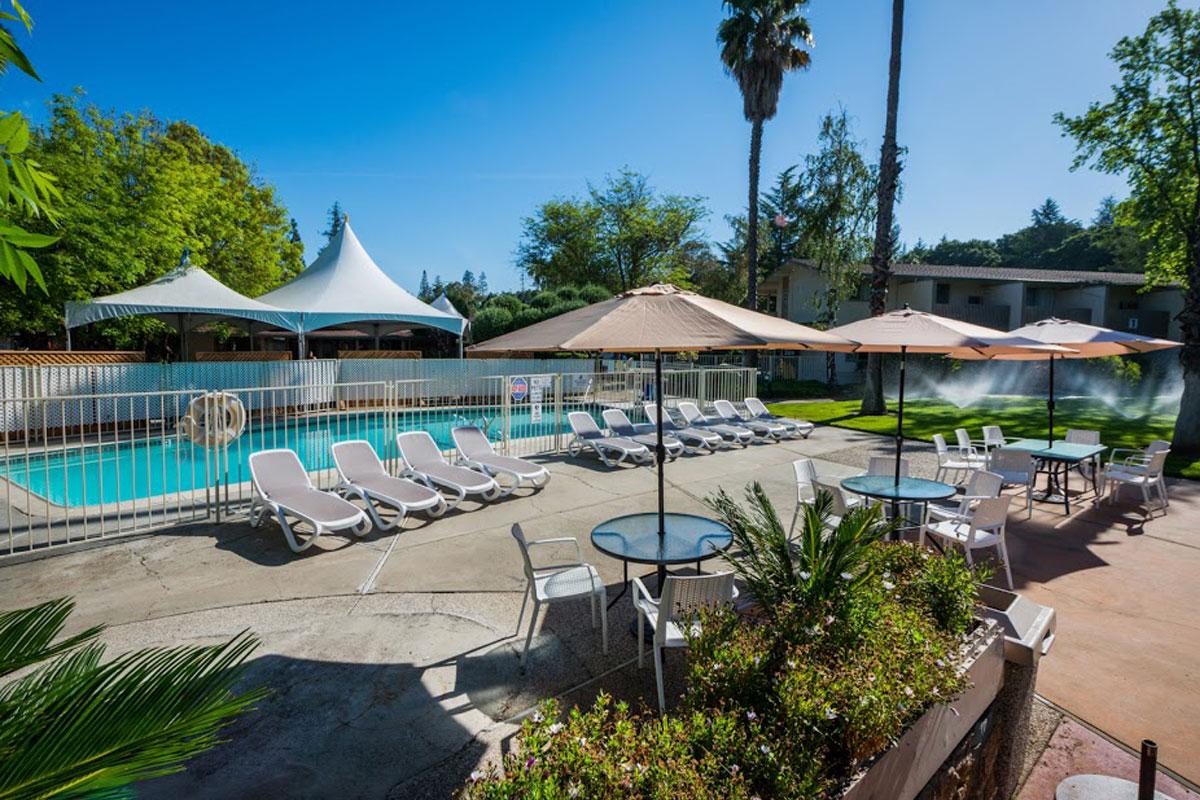 Pool - Los Gatos Lodge - Los Gatos, CA