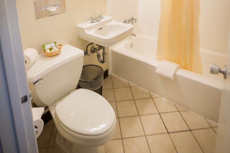 Garden View King Bathroom