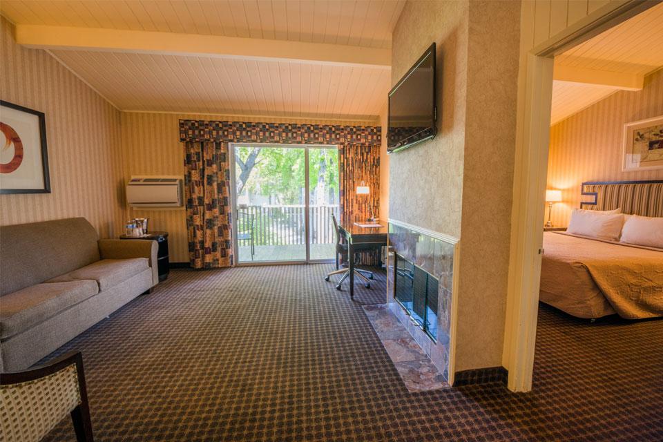 Garden View King Suite Floor Plan